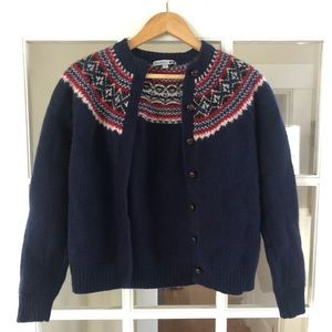 J.W. Anderson & Uniqulo Navy Cozy Cardigan Sweater